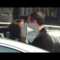Katherine mcphee and smash director michael morris caught kissin