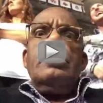 Al roker vine selfie