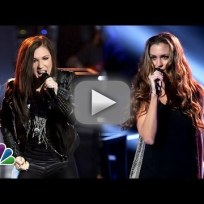 Amber Nicole vs. Josh Logan - The Voice Knockout