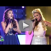 Destinee Quinn vs. Olivia Henken - The Voice Knockout