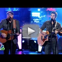 Austin Jenckes vs. Brandon Chase - The Voice Knockout