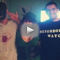 Trayvon Martin and George Zimmerman Halloween Costumes