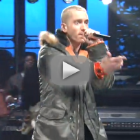 Eminem berzerk saturday night live