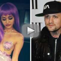 Miley Cyrus and Benji Madden Hook Up