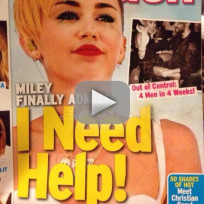 Miley Cyrus Mocks In Touch Cover