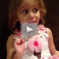 Young Girl Impersonates Kourtney Kardashian