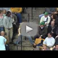 Celtics Fan Dances Up a Storm
