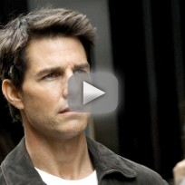 Tom cruise acting as hard as fighting in afghanistan