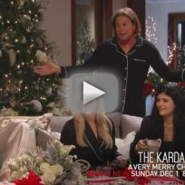 Keeping Up with the Kardashians Christmas Preview