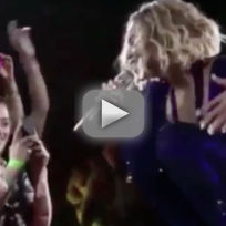 Beyonce Duets with Blind Audience Member