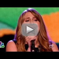 "Caroline Pennell: ""Leaving on a Jet Plane"" - The Voice"