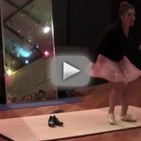 "Woman Makes Body Image Statement, Dances to ""Roar"""