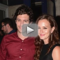 Adam brody leighton meester engaged