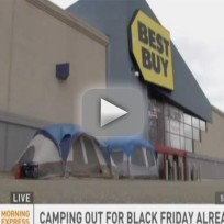 People Already Camping Outside Best Buy