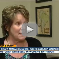 Masturbating Walmart Man: Caught on Camera!