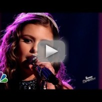 """Jacquie Lee: """"Cry Baby"""" - The Voice"""