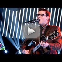 """James Wolpert: """"Fell in Love with a Girl"""" - The Voice"""