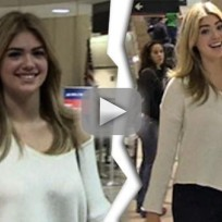Kate Upton: Stunning at LAX!
