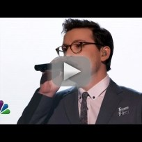 "James Wolpert: ""With or Without You"" - The Voice"