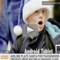 Airline Provides Christmas Miracle For Passengers