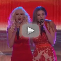 "Jacquie Lee and Christina Aguilera: ""We Remain"" - The Voice"