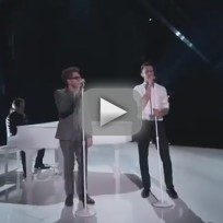 "Will Champlin and Adam Levine: ""Tiny Dancer"" - The Voice"