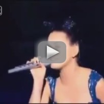Katy perry lip sync fail