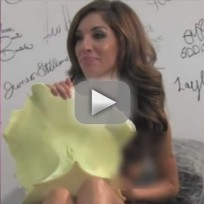 Farrah Abraham Makes Custom Sex Toy For You