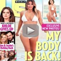 Kim Kardashian, Bikini Cover Us Weekly
