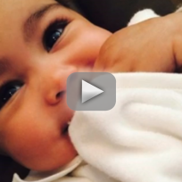 North West Eyebrows: Waxed By Kim Kardashian?