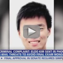 Eldo Kim, Harvard Bomb Hoax Perpetrator, Arrested