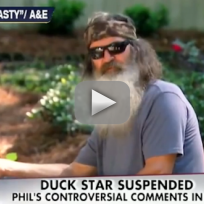 Phil Robertson Suspended From Duck Dynasty