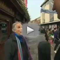 Bbc reporter accidentally interviews henry winkler