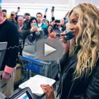 Beyonce Shocks Shoppers with Gift Cards