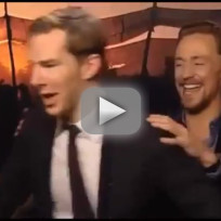 Tom hiddleston vs benedict cumberbatch dance off