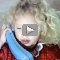 Taylor Swift at Four Years Old