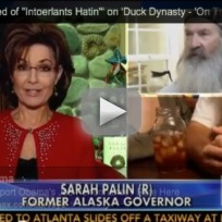 Sarah palin responds to phil robertson scandal