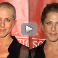 Bald jennifer aniston