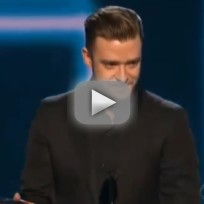 Justin timberlake peoples choice awards speech