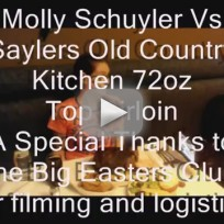 Molly Schuyler Sets Steak Eating Record