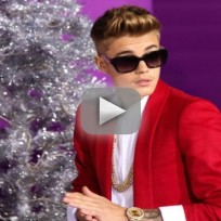 Justin Bieber Throws Eggs at Neighbor's House