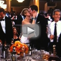 Nicholas hoult and jennifer lawrence kiss