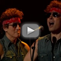 Bruce Springsteen and Jimmy Fallon Mock Chris Christie Scandal