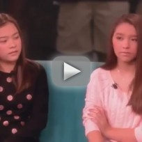 Kate gosselin twins clam up on the view