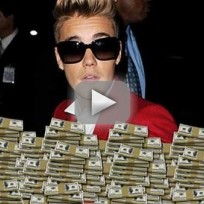 Justin Bieber Drops 75K at Strip Club