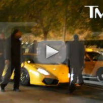 Justin Bieber Arrest Footage