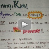 The Note All Parents Want To Write To Their Kids