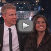 Sean lowe and catherine giudici on jimmy kimmel live part 2 of 2
