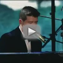 Robin Thicke Grammy Awards Performance 2014
