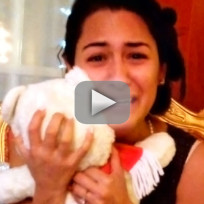Guy Restores Girlfriend's Teddy Bear, Films Reaction